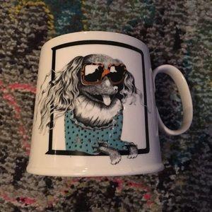 Anthropologie Other - Balducci Anthropologie Letter D Dog Mug